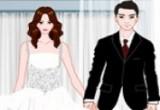 لعبة تلبيس العروسان الجميلان