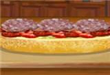 لعبة طبخ بنات السندوتشات الايطالي