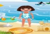 العاب دورا في شاطىء البحر