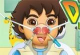 لعبة دكتور تنظيف انف دييغو