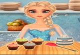 العاب طبخ الكيك مع المجمدة السا