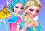 Game Elsa Ice Bucket Makeover