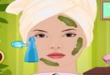 لعبة تنظيف بشرة الفتاة بالاعشاب الطبيعية
