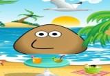 لعبة بو على شاطىء البحر
