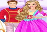 لعبة تلبيس اميرة الطلاء وزوجها