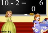 تعليم الرياضيات مع صوفيا وعابر في المدرسة