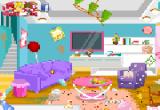 لعبة ترتيب وتنظيف غرفة لوسي