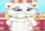 Game Talking angela shaving