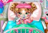 لعبة رعاية الطفل المصاب انفلونزا