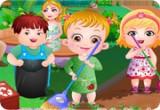 لعبة بيبي هازل في عيد الارض