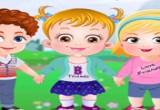 لعبة عيد الصداقة مع الطفل العسلي