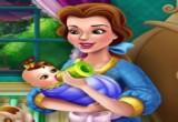لعبة ارضاع طفل الاميرة الحسناء
