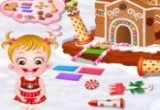 play Baby Hazel Gingerbread House games
