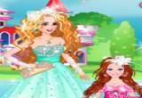 لعبة العروس سندريلا والفتاة الزهرة