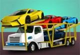 لعبة مقطورة لنقل السيارات