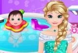 لعبة سبا طفل المجمدة إلسا
