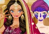 لعبة مكياج الراقصة الهندية 2015