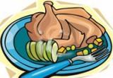 العاب طبخ الدجاج الرومي المشوى