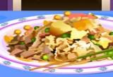 العاب طبخ الارز بالاناناس