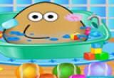 لعبة استحمام الطفل بو