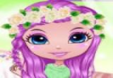 لعبة عروسة الزهور الجميلة