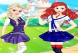 لعبة الأميرات في كلية البنات