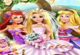 لعبة حفل زفاف رابونزيل الجديدة اون لاين