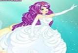 لعبة فساتين زفاف اميرة البحر
