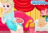لعبة ضرب الأميرة إلسا على مؤخرتها