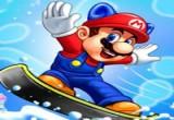 لعبة سباق ماريو وسونيك التزلج على الجليد