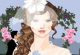 لعبة تلبيس العروسة يوم زفافها
